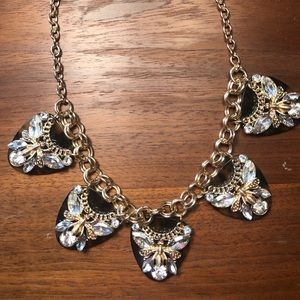 Francesca's Collection Tortoise Bee necklace